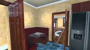 Craftsman Home Interiors Custom House Plan Craftsman Bungalow Interior Exterior Fly