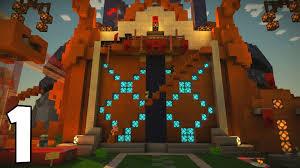 minecraft story mode episode 2 redstonia 1 youtube