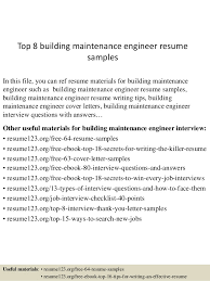 Maintenance Technician Resume Sample by Maintenance Resume General Maintenance Worker Resume Sample