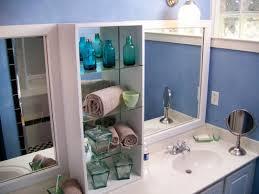 diy bathroom mirror with shelf decorating ideas gyleshomes com