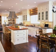 Stove In Kitchen Island Classic Contemporary Kitchen Design Built In Refrigerator