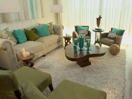 Turquoise And Green Lounge Room Ideas Color Splash Hgtv