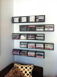 wall mounted component shelves shelves wall mounted dvd player storage units loctek 3 shelves