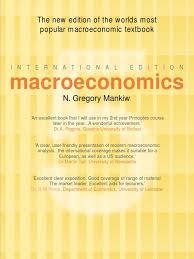 mankiw macroeconomics business cycle