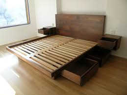 Diy Platform Bed Frame Designs by Diy Platform Bed With Drawers Plans U2013 Tips For Building A Simple