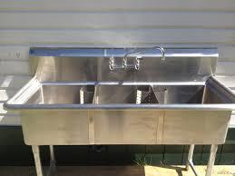 Wall Mount Kitchen Sink Faucet Decor Kohler Triton 2 Handle Wall Mount Commercial Sink Faucet