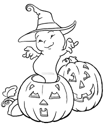 cute ghost coloring pages archives gallery coloring page