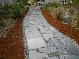walkway ideas for backyard slate walkways slate patio walkways flagstone contractor