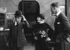 James d     arcy on Pinterest Charlie Chaplin shows his hat roll to the Crown Prince Frederik of Denmark  next to