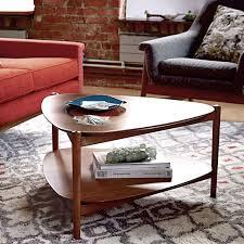 Retro Sofa Table by Retro Tripod Coffee Table West Elm