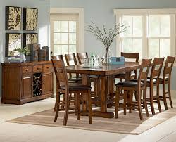 Counter Height Dining Room Tables by Steve Silver Zappa 9 Piece Counter Height Table U0026 Chair Set