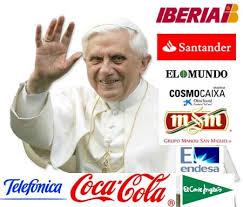 Empresas que colaboran en la visita del Papa