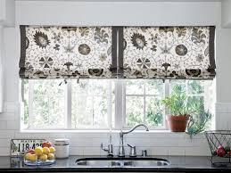 creative kitchen window treatments hgtv pictures u0026 ideas hgtv