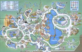 Orlando Florida On Map by Theme Park Brochures Sea World Orlando Theme Park Brochures