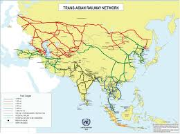 Map Of Russia And Europe by Russia And China Are Making True High Speed Cargo Trains For 2 Day