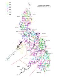 Metro Manila Map by Namria The Central Mapping Agency Of The Government Of The