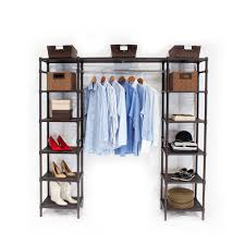 amazon com seville classics expandable closet organizer system