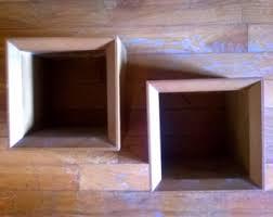 Floating Box Shelves by Box Shelves Etsy