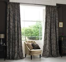 exterior outstanding large curtain windows design with double