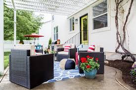 Lowe Outdoor Furniture by Lowe U0027s Spring Makeover Patio Reveal Emily A Clark