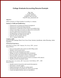 Chief Accountant Resume Sample Good Resume Examples For Students