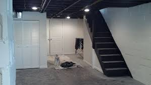 Black Ceiling Basement by Basement Ceiling Painted Black Home Design Ideas