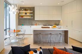 kitchen modern open shelves uotsh