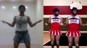 petty cheer squad song dance starkeisha remake fantasy football