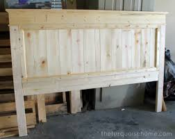 diy farmhouse headboard how to for the home pinterest bed