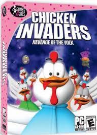 لعبة chicken invaders 4 لعبة غزو الدجاج خطيرة ومشهورة جدا ب20 ميجا فقط