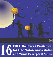 free halloween images 16 free halloween printables sensory motor skills your therapy