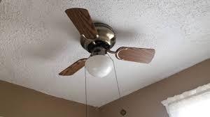 Wall Hugger Ceiling Fans Westinghouse Petite Ceiling Fan 3 Blades Youtube
