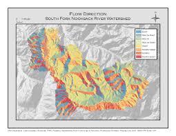 Hydrology Map Hydrology And Watershed Analysis U2013 Model U0026 Manual L Holmes