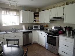 Kitchen Floor Tile Ideas With White Cabinets Kitchen Cabinets White Cabinets With Brown Granite Countertops