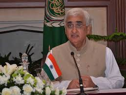 The Minister for External Affairs Shri Salman Khurshid
