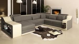 Aliexpresscom  Buy  Lastest Design U Shape Leather Sofasofa - Fabric sofa designs