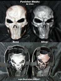 ghost face mask military skull shoulder armor google search comics pinterest
