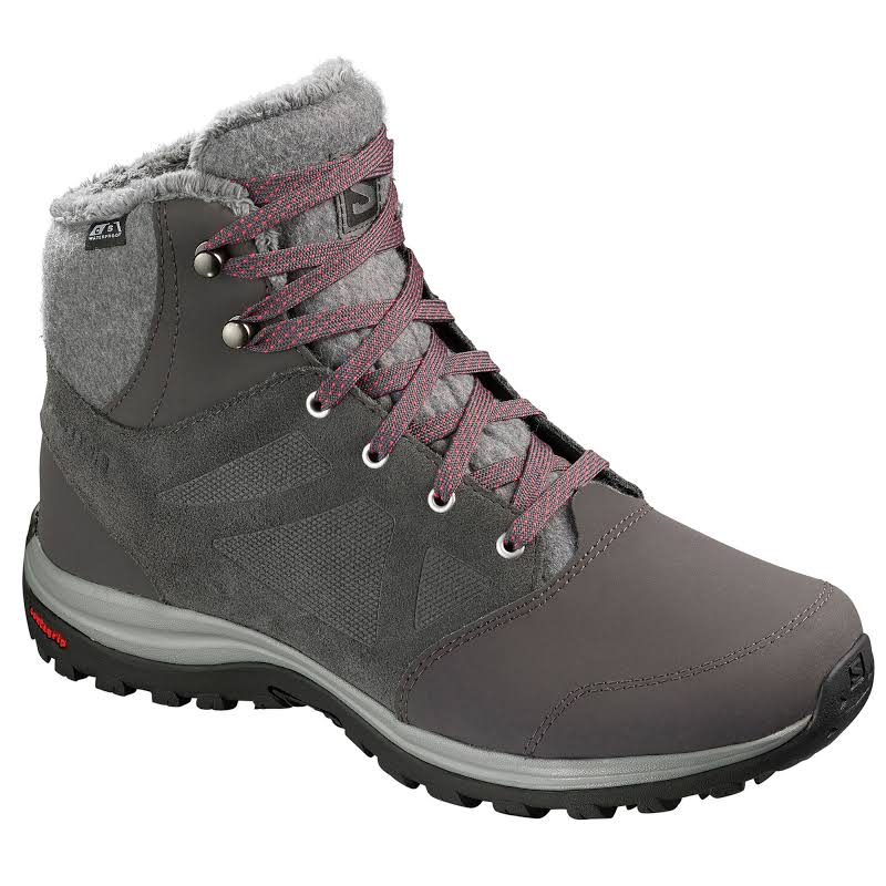 Salomon Ellipse Freeze CS WP Winter Boot Magnet/Quiet Shade/Hibiscus Medium 8.5 L40469700-8.5