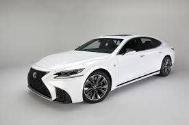 lexus is300 f sport exhaust 2018 lexus ls 500 f sport adds visual aggression handling pack to