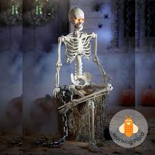 Life Size Skeleton Halloween by Poseable Skeleton 5 Ft Life Size Hanging Halloween Prop Decoration