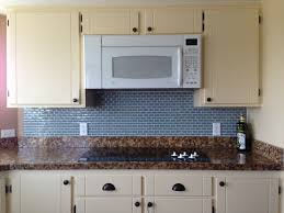 amusing kitchenette with dark granite countertop also blue modern