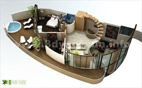 Home Design 3d Ipad Balcony Good 3d Restaurant Floor Plans With 3d Floor Plan Top View 3d