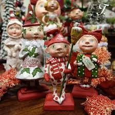 christmas figures by debra schoch for bethany lowe traditions