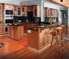 Hickory Kitchen Cabinet Doors Kitchen Kitchen Kitchens With Hickory Cabinets Designer Hickory