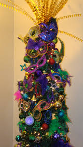 my christmas tree mardi gra inspired made the masks from dollar