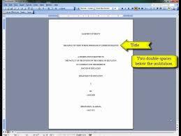turabian style paper title page SEC LINE Temizlik