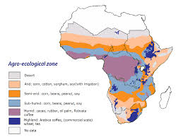Sub Saharan Africa Physical Map by Sub Saharan Africa Importance Of Institutions For Developing Food