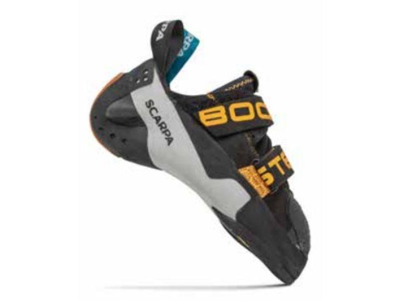 Scarpa Booster Climbing Shoes Black/Orange 43.5 70060-000-BlkOrg-43.5