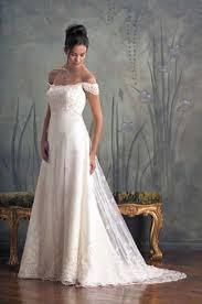 Off-Shoulder Wedding Dress Neckline