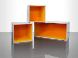 Floating Box Shelves by Cube Shelves Blue Instead Of Orange Boys Bathroom Pinterest